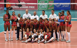 Dominican Republic Volleyball Team Stock Images