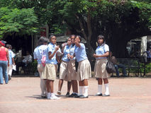 Dominican students Stock Photo
