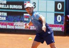 Dominican tennis player Victor Estrella Stock Image