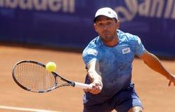 Dominican tennis player Victor Estrella Royalty Free Stock Photos