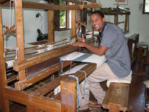 Dominican textile royalty free stock photography