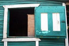 Dominican window stock image