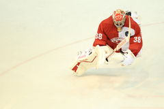 Dominik Furch - ice hockey Royalty Free Stock Image