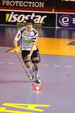 Dominik Hanic - floorball Royalty Free Stock Photo