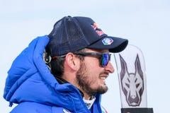 Dominik Paris em Bormio 2017 - Ski World Cup Audi Imagem de Stock Royalty Free