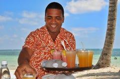 Dominikańscy gościnność przekłady, ciepłe przyjęcie i fotografia royalty free