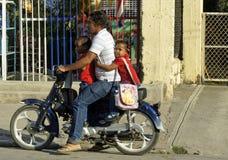 Dominikańska rodzina fotografia stock