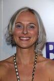 Dominika Juillet en el lanzamiento oficial de BritWeek, localización privada, Los Ángeles, CA 04-24-12 Foto de archivo libre de regalías