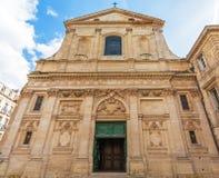 Dominikan Eglise Saint Paul, barock stil, Bordeaux royaltyfria bilder