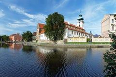 dominikan för budejoviceceskekloster arkivfoto