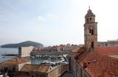 Dominikan kyrkliga Dubrovnik arkivbild
