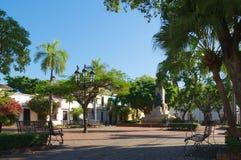 Dominikanische Republik - Santo Domingo - Parque Duarte Stockbilder
