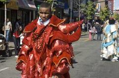 Dominikanische Tagesparade stockbild