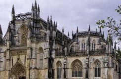 Dominikanisches mittelalterliches Kloster Batalha, Portugal Lizenzfreies Stockbild