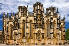 Dominikanisches mittelalterliches Kloster Batalha, Portugal - großes masterpie lizenzfreie stockfotografie