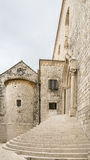 Dominikansk kloster i Dubrovnik Arkivbilder