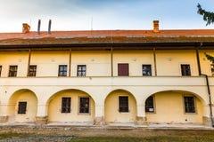 Dominikansk kloster - Uhersky Brod, Tjeckien Arkivfoto