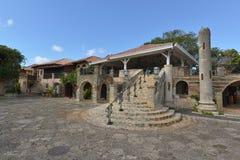 Dominikanska republiken Punta Cana, Alt de Chavon Arkivbild