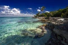 Dominikisk strand Arkivbilder