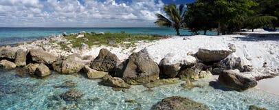 Dominikisk strand Arkivfoto