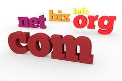 dominio 3d Fotografía de archivo