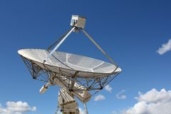 Dominion Radio Astrophysical Observatory Dish. One dish of the array at the Dominion Radio Astrophysical Observatory Radio Telescope in the Okanagan, near royalty free stock image