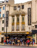 Dominion Theater in London. LONDON, UK - September 16, 2016: London is the capital and largest city of England and United Kingdom. London is the most visited stock photography