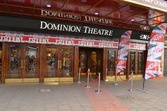 Dominion Theatre Britains Got Talent Royalty Free Stock Image