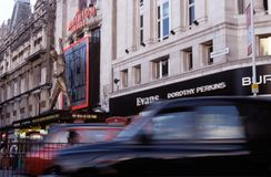 The Dominion Theatre, London. Royalty Free Stock Image