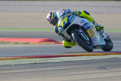 Dominique Aegerter. Moto2. Grand Prix Movistar of Aragón of MotoGP. Aragon, Spain. 27th September 2015 Stock Images