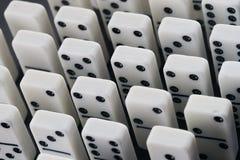 Domino作用 免版税库存照片