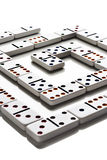 Domino模式 图库摄影
