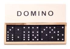 Domino比赛 免版税库存照片