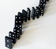 Domino线路 免版税图库摄影