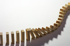 domino (1) skutek Zdjęcie Stock