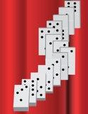 domino Zdjęcia Stock