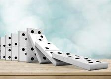 Domino stock abbildung
