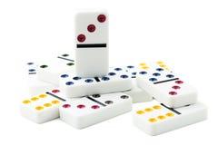 Domino royaltyfria foton