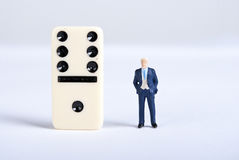 Domino 免版税库存图片