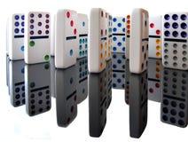 Domino 图库摄影