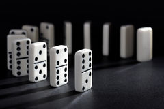 Domino Fotografie Stock Libere da Diritti