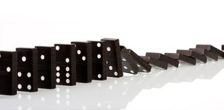 Domino 3 Stockbild