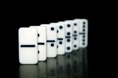 Domino Photo stock