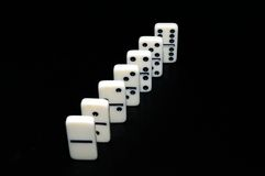 Domino Photo stock