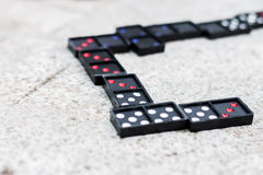 Domino Royalty-vrije Stock Afbeelding