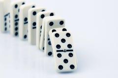 Domino Royaltyfri Bild