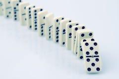 Domino Arkivbild