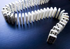 Domino Royalty Free Stock Images