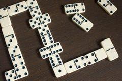 Domino Lizenzfreie Stockbilder