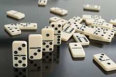 Domino royaltyfri fotografi